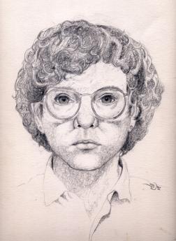 Shelley in 1992 - self portrait