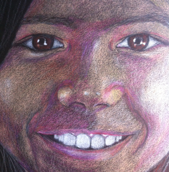Colored Pencil Study - not available